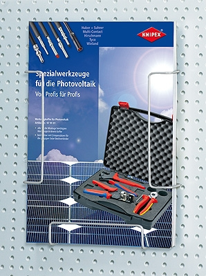 Knipex 001936 Brochure Holder for pegborads
