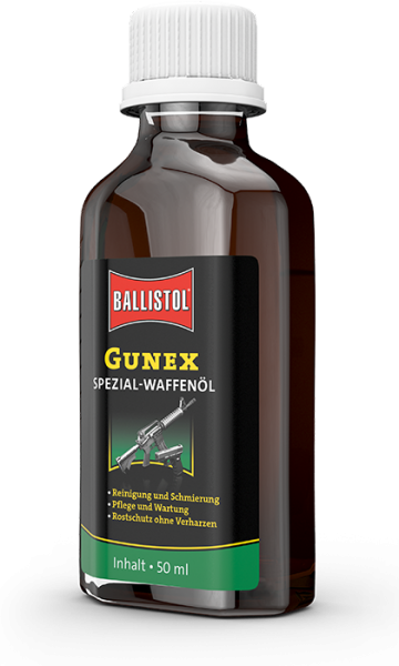 Ballistol GunEx Weapon Oil 50ml