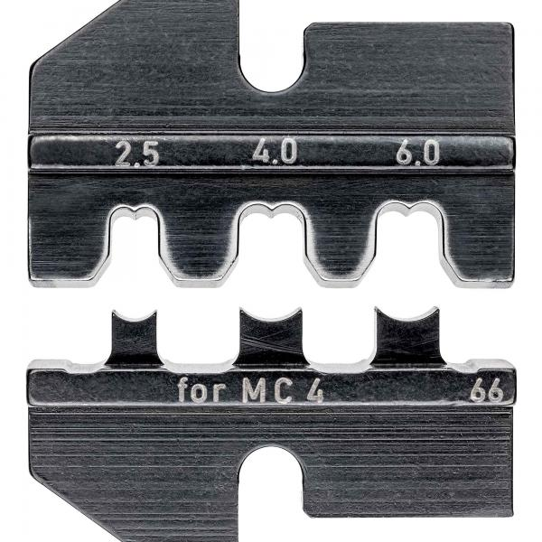 Knipex 974966 Crimping dies for solar cable connectors MC4 (Multi-Contact)