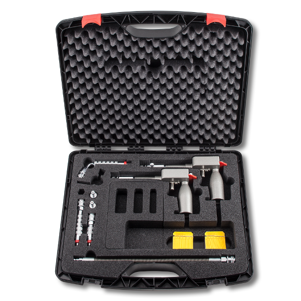 MOTOMETER Recording Compression Tester set for petrol and diesel 3,5-17,5 bar / 10-40 bar