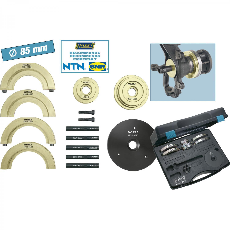 Bearing Puller Nexus : Hazet compact wheel hub bearing unit tool set