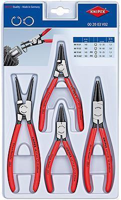 Knipex 002003V02 Set of Circlip Pliers