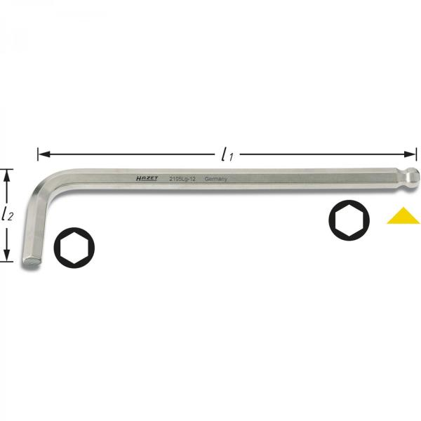HAZET 2105LG-10 Screwdriver