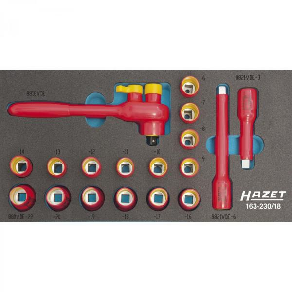 Hazet 163-230/18 VDE Socket Set