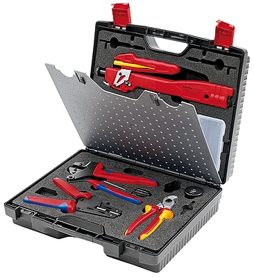 Knipex 979102 Tool Case for Photovoltaics, MC3 (Multi-Contact)