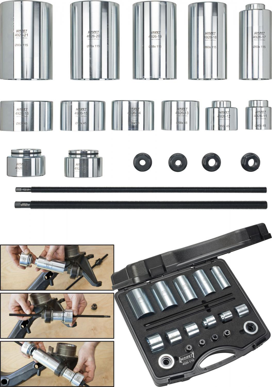 Bearing Puller Nexus : Hazet universal tool set for silent blocks and joint