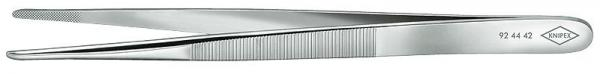 Knipex 924442 Precision Tweezers blunt shape 140 mm