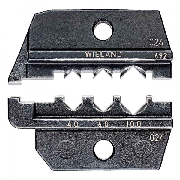 Knipex 9749692 Crimping dies for solar cable connectors gesis® solar PST 40 (Wieland)