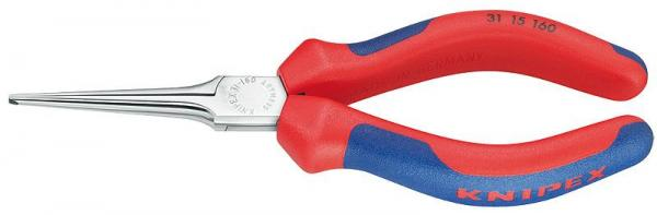 Knipex 3115160 Flat Nose Pliers chrome plated 160 mm