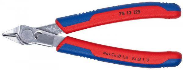 Knipex 7813125 Electronic Super Knips® with multi-component grips 125 mm