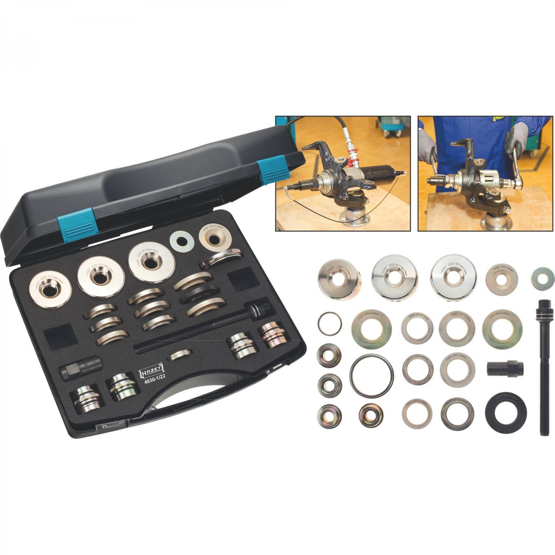 Bearing Puller Nexus : Hazet wheel bearing tool set pieces hydraulic