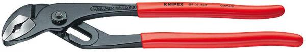 Knipex 8901250 Water Pump Pliers with groove joint black atramentized plastic coated 250 mm