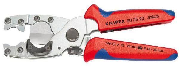Knipex 902520 Pipe Cutter for composite pipes with multi-component grips 210 mm