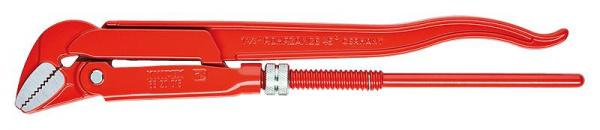 Knipex 8320015 Pipe Wrench 45° red powder-coated 430 mm