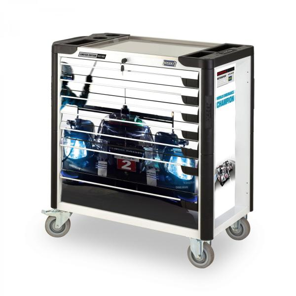 HAZET PORSCHE Assistent Tool trolley 179XL-7-PD