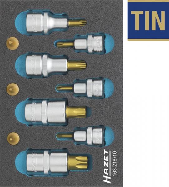hazet 163 218 10 torx screwdriver socket set tool modules general workshop equipment hazet. Black Bedroom Furniture Sets. Home Design Ideas