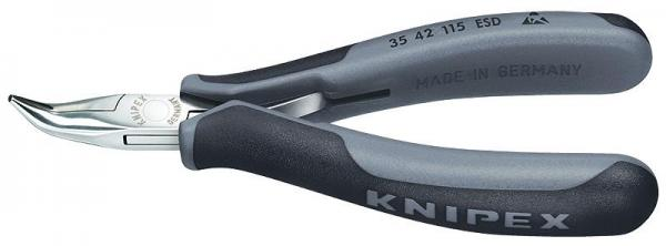 Knipex 3542115ESD Electronics Pliers ESD with multi-component grips 115 mm