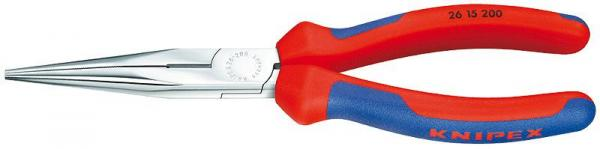Knipex 2615200 Snipe Nose Side Cutting Pliers chrome plated 200 mm