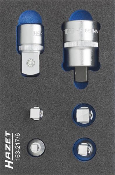Hazet 163-217/6 Adapter Set