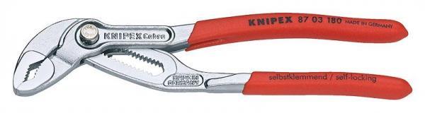 Knipex 8703180 KNIPEX Cobra® chrome plated 180 mm