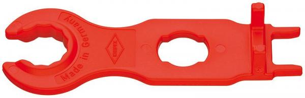 Knipex 9749662 Set of Mounting Tools for solar cable connectors MC4 (Multi-Contact) 115 mm