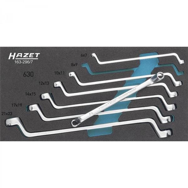 Hazet 163-296/7 Double Box-End Wrench Set