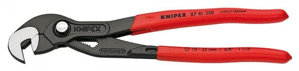 Knipex 8741250 Raptor Pliers grey atramentized with non-slip plastic coating 250 mm