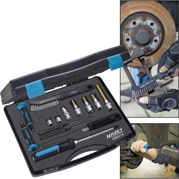 HAZET Universal brake tool set 4968/14