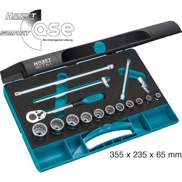 "Hazet 880Z N-1 3/8"" Socket Set (12-Point)"