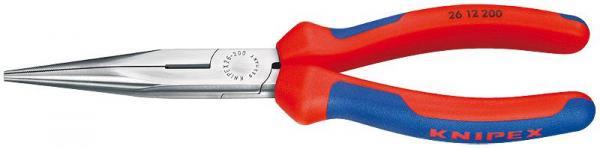 Knipex 2612200 Snipe Nose Side Cutting Pliers black atramentized 200 mm