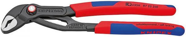 Knipex 8722250 KNIPEX Cobra® QuickSet grey atramentized 250 mm