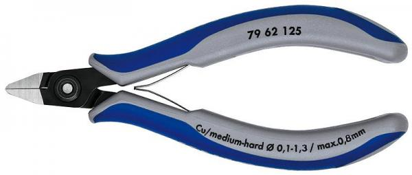 Knipex 7962125 Precision Electronics Diagonal Cutter burnished 125 mm