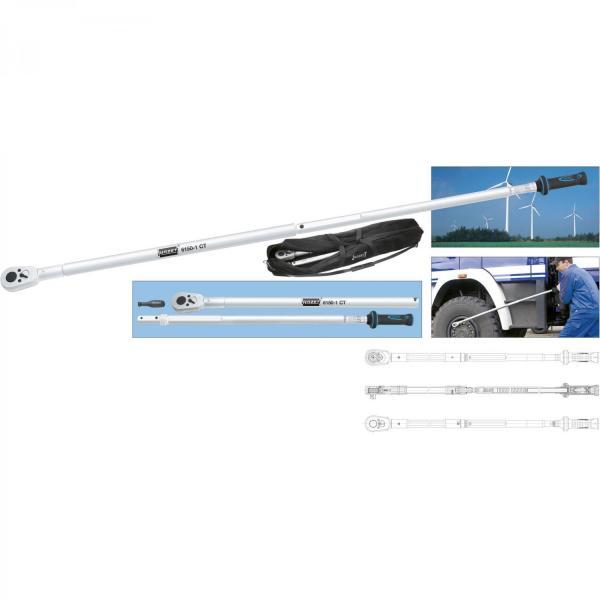 "Hazet 6170-1CT Torque wrench 1"" drive 800-2,000 Nm"