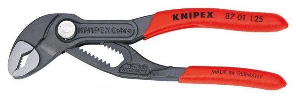 Knipex 8701125 KNIPEX Cobra® grey atramentized 125 mm