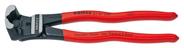 Knipex 6101200 Bolt End Cutting Nipper black atramentized 200 mm