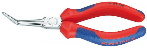 Knipex 3125160 Flat Nose Pliers chrome plated 160 mm