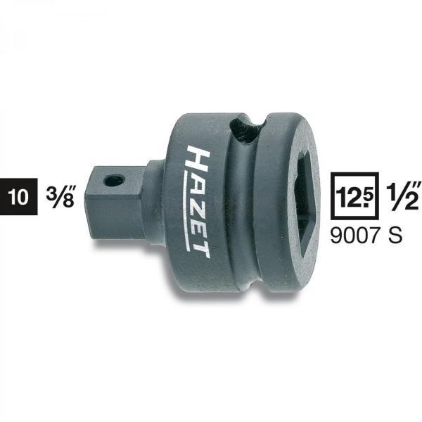 "Hazet 9007S Impact Adapter 1/2"" - 3/8"""