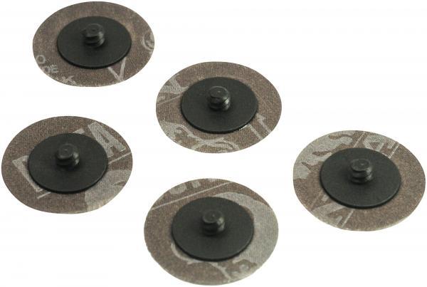 Hazet 9033-11-S080 Grinding pads, ∅ 50 mm, 80 grain size