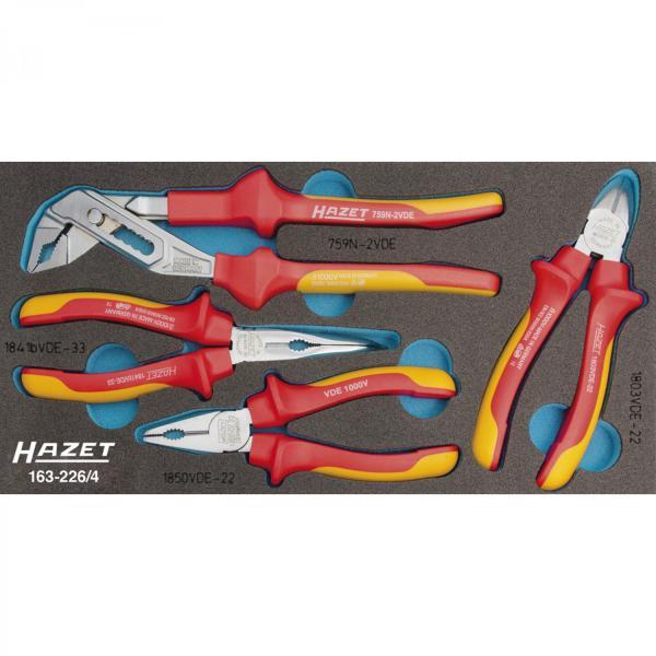 163-226/4 VDE Pliers Set