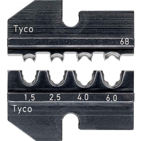 Knipex 974968 Crimping dies for solar cable connectors Solarlok (Tyco)