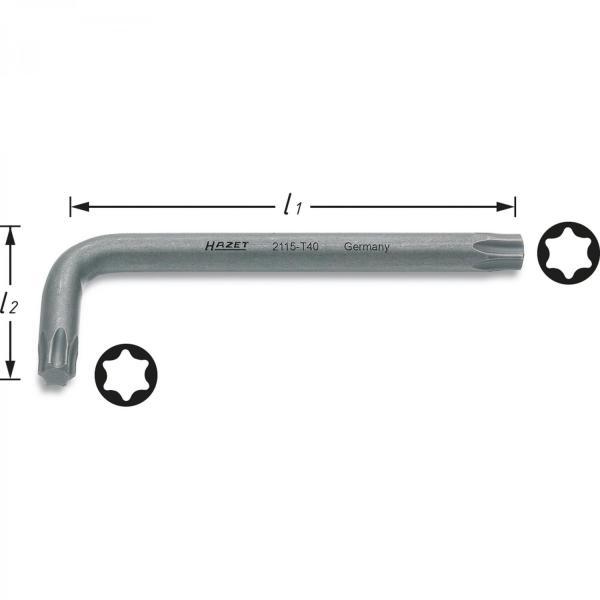 HAZET 2115-T TORX® Screwdrivers