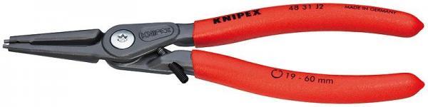 Knipex 4831J2 Precision Circlip Pliers grey atramentized 180 mm