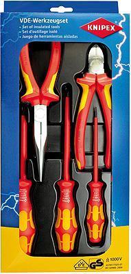 Knipex 002013 VDE Tool Set