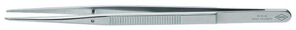 Knipex 922235 Precision Tweezers with centering pin pointed shape 155 mm