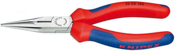 Knipex 2502140 Snipe Nose Side Cutting Pliers black atramentized 140 mm