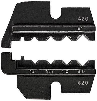 Knipex 974961 Crimping dies for turned contacts (Harting)