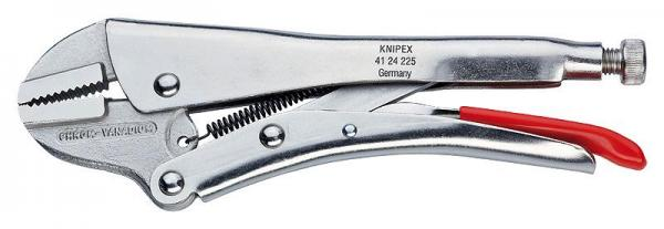 Knipex 4124225 Grip Pliers nickel plated 225 mm