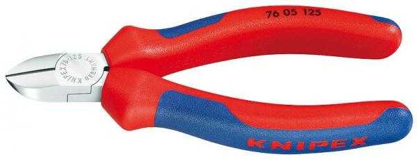 Knipex 7605125 Diagonal Cutter chrome plated 125 mm