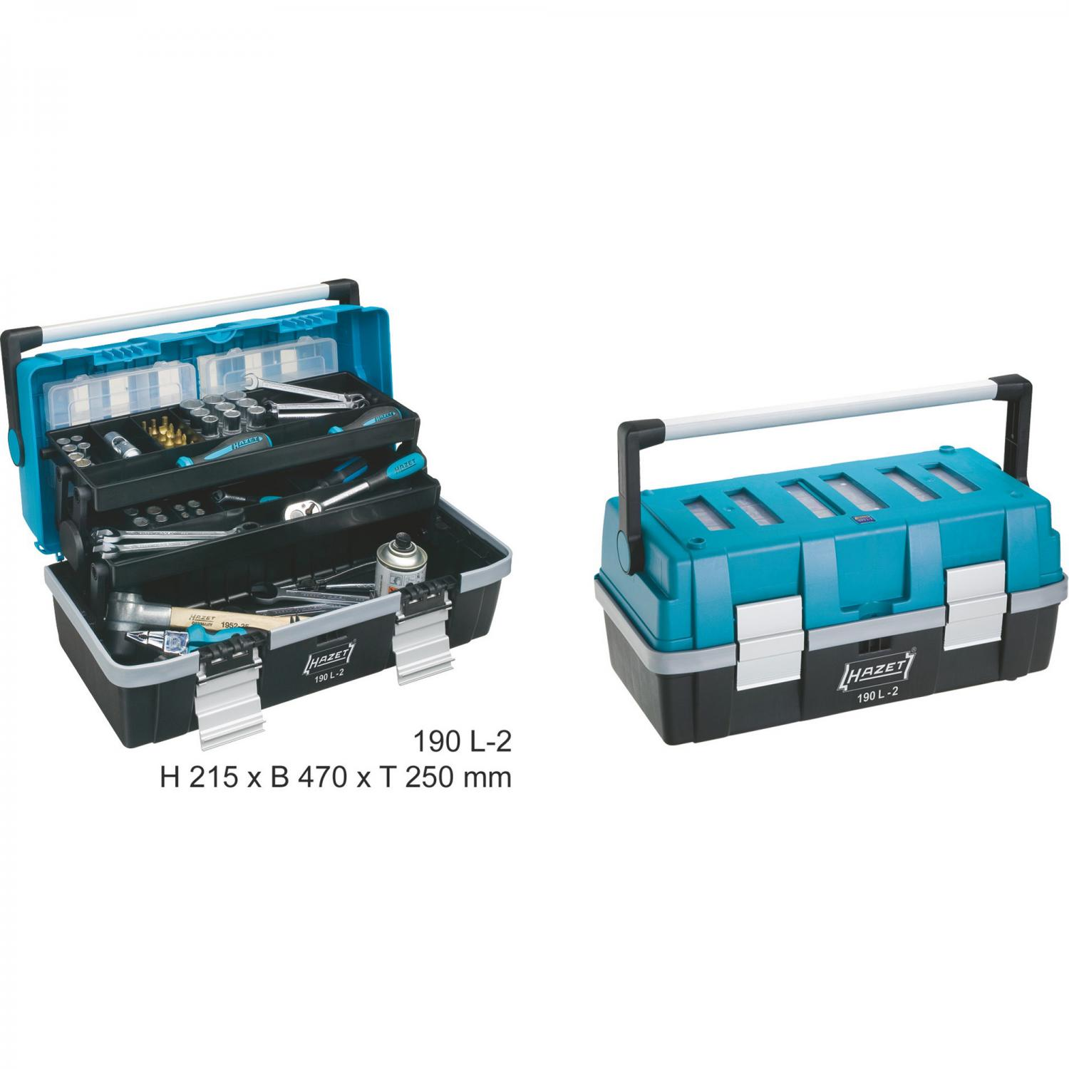 hazet 190l-2 tool box | tool case | general workshop equipment