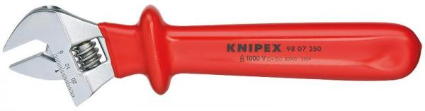 Knipex 9807250 Adjustable Wrench adjustable 260 mm